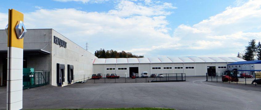 Otvoritev skladiščno logistične cone Znass Na Brezovico – Ždinja vas